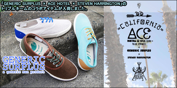 GENERIC SURPLUS  ACE HOTEL  STEVEN HARRINGTON
